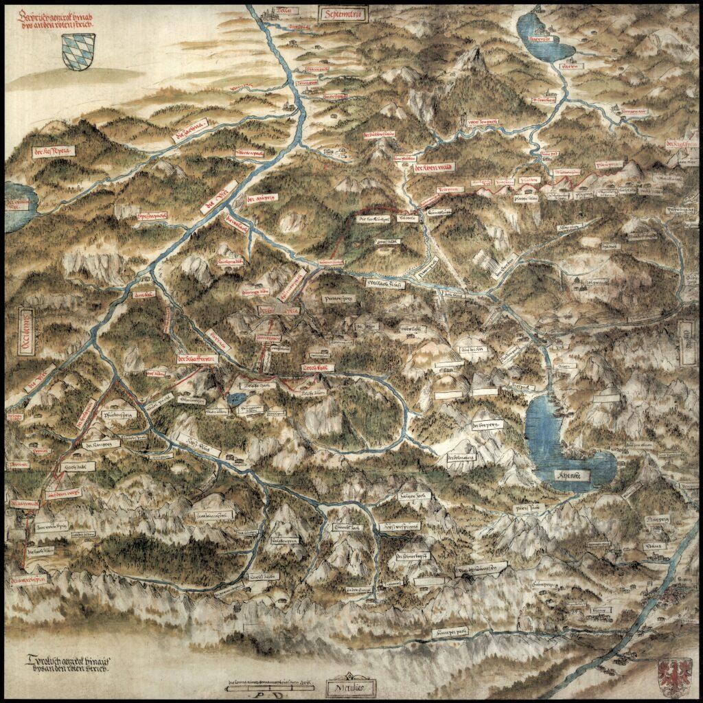 © Historische Kartensammlung des Tiroler Landesarchives