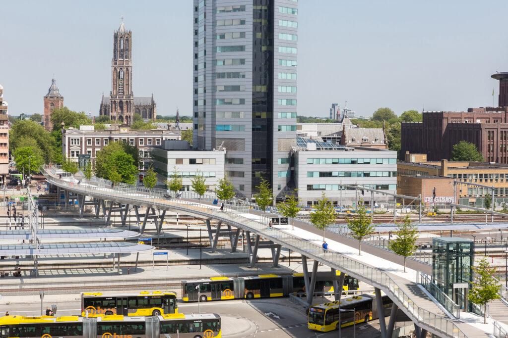 © Lucas van der Wee. DAM Fahr Rad - Moreelse-Brücke