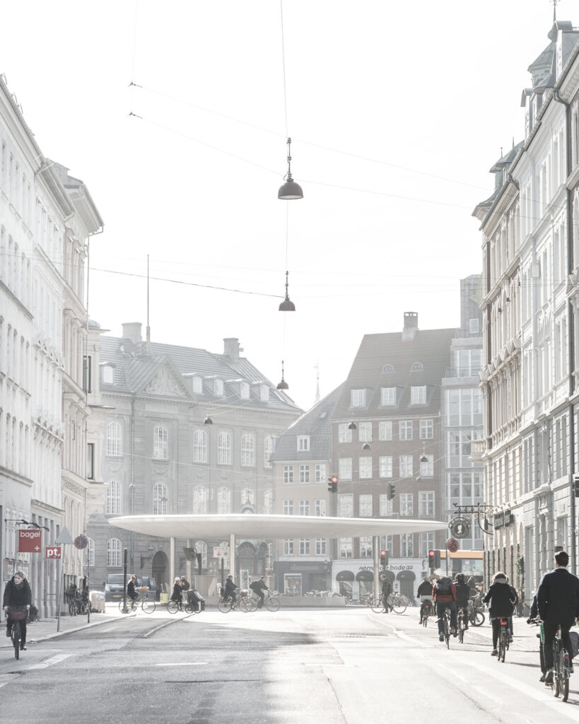 © Rasmus Hjortshoj. DAM Fahr Rad - Norreport Station