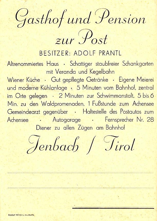 © Hugo Lindenthaler/Jenbach, Bestand Chronik  der Marktgemeinde Jenbach