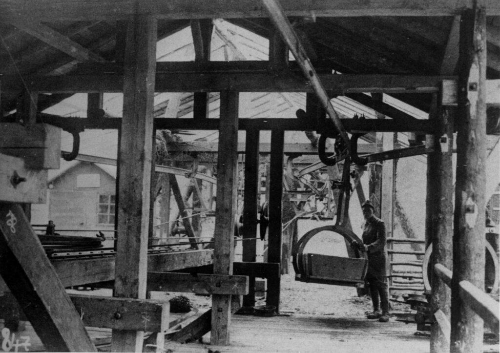 Geroli. Stazione funicolare. 1916-18 [Archivio MSIG 168_38]